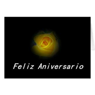 Feliz Aniversario Tarjeta De Felicitación