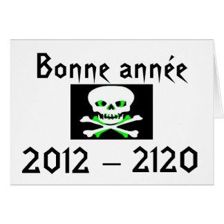 FELIZ AÑO NUEVO 2012 de calavera Felicitaciones