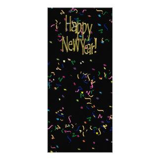 ¡FELIZ AÑO NUEVO! Imagen del texto Lona Personalizada