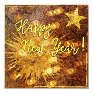 ¡Feliz Año Nuevo! Invitación 13,3 Cm X 13,3cm