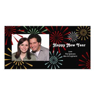 Feliz Año Nuevo Photocards Tarjeta Fotografica