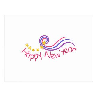 Feliz Año Nuevo Postal