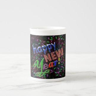 ¡Feliz Año Nuevo! Taza De Porcelana