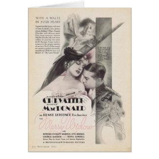 Feliz anuncio 1934 de la película de la viuda de