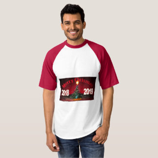 Feliz camiseta 2018-2019 de Chrismas