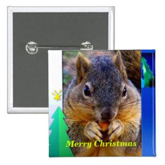 Feliz Christmas_ Button_by Elenne Pins