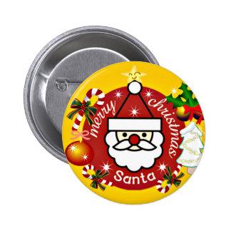 Feliz Christmas_Button Pins