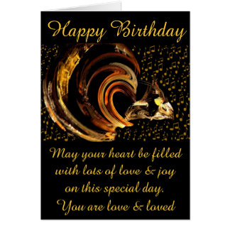 Feliz cumpleaños #1_Card Tarjeta Pequeña