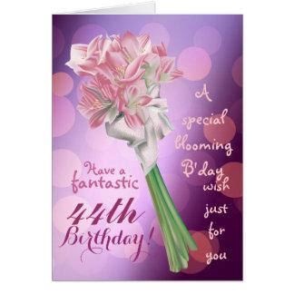 ¡Feliz cumpleaños! - 43.a tarjeta de felicitación