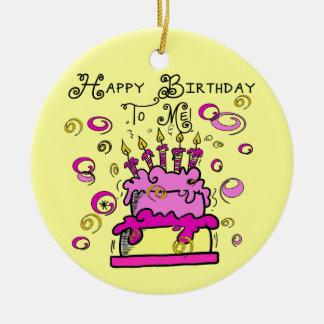 Feliz cumpleaños a mí adorno