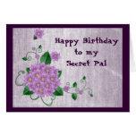 Feliz cumpleaños a mi PAL secreto Felicitaciones