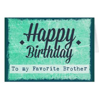Feliz cumpleaños a mi tarjeta preferida de Brother