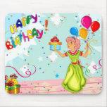 Feliz cumpleaños alfombrilla de ratones