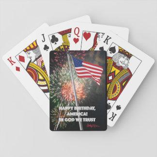 ¡Feliz cumpleaños América! Barajas De Cartas