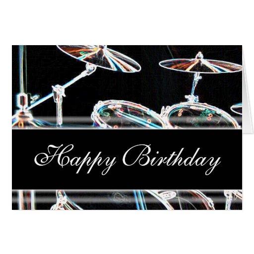 Happy Birthday Dave Cake Drum