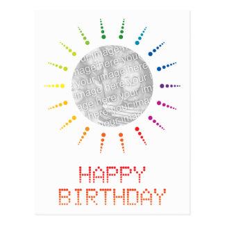feliz cumpleaños (brightBurst) Postal