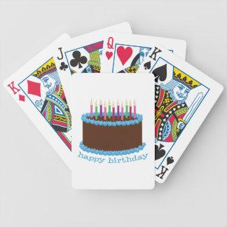 Feliz cumpleaños baraja