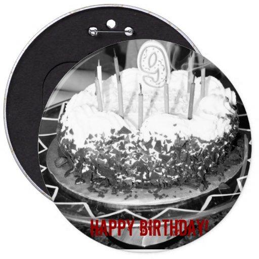 ¡Feliz cumpleaños! Pin