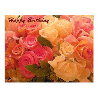 Feliz cumpleaños/cualquier Occasion_Postcard Tarjetas Postales