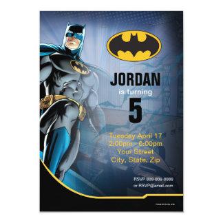 Feliz cumpleaños de Batman el   Invitación 12,7 X 17,8 Cm