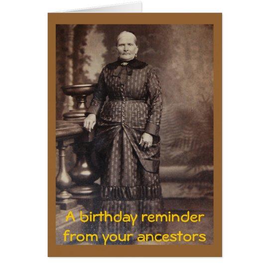 Feliz cumpleaños de la diversión grosera del tarjeta de felicitación