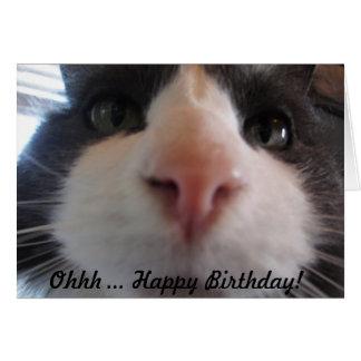 ¡Feliz cumpleaños de Ohhh…! Tarjeta De Felicitación