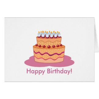 Feliz cumpleaños de su señora de Avon - tarjeta de