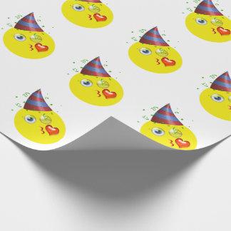 Feliz cumpleaños Emoji Papel De Regalo