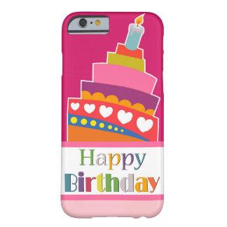 Feliz cumpleaños funda de iPhone 6 barely there