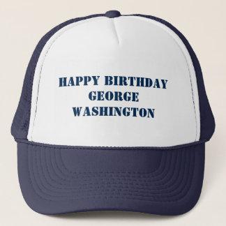 Feliz CUMPLEAÑOS George Washington George Gorra De Camionero