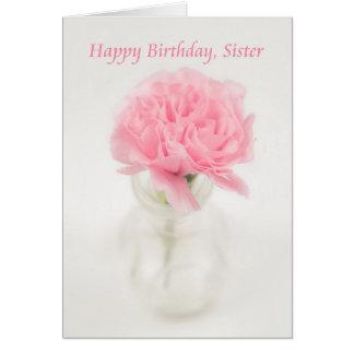 Feliz cumpleaños, hermana felicitaciones