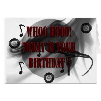 Feliz cumpleaños, hijo tarjeta de felicitación
