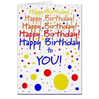 ¡Feliz cumpleaños! Humor Tarjeta De Felicitación