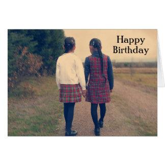 Feliz cumpleaños - IV retro Tarjetas