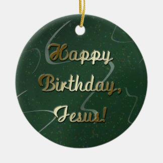 Feliz cumpleaños Jesús Ornamentos Para Reyes Magos