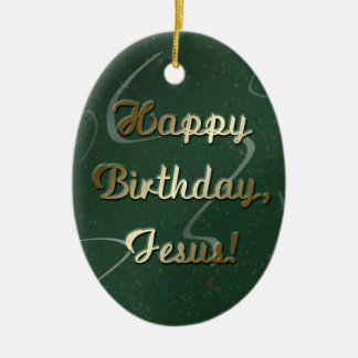 Feliz cumpleaños Jesús Adornos De Navidad