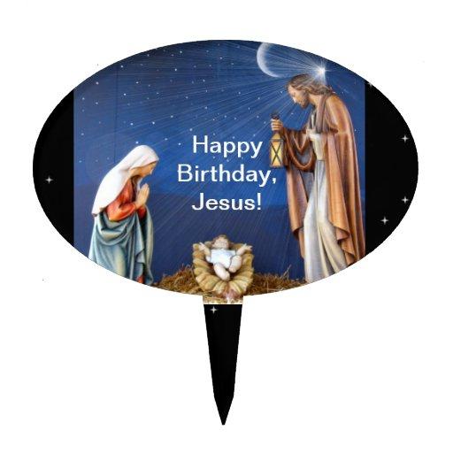 ¡Feliz cumpleaños, Jesús! Decoraciones Para Tartas