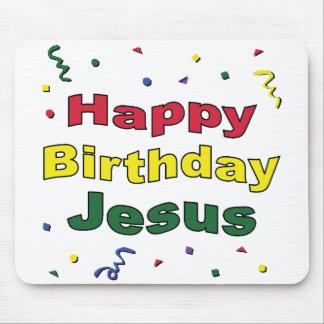 Feliz cumpleaños Jesús Alfombrillas De Ratón