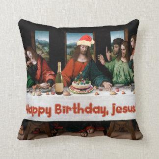 ¡Feliz cumpleaños, Jesús! Almohadas