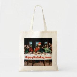 ¡Feliz cumpleaños, Jesús! Bolsa Tela Barata