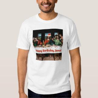 ¡Feliz cumpleaños, Jesús! Camisas