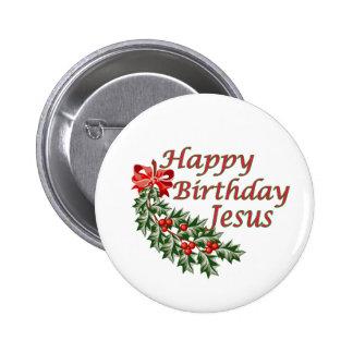 Feliz cumpleaños Jesús Chapa Redonda De 5 Cm