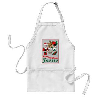 Feliz cumpleaños Jesús Delantal