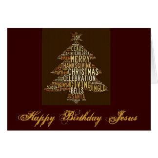 Feliz cumpleaños Jesús II Tarjeta De Felicitación