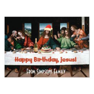¡Feliz cumpleaños, Jesús! Invitación divertida del