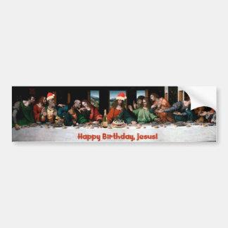 ¡Feliz cumpleaños, Jesús! Pegatina Para Coche