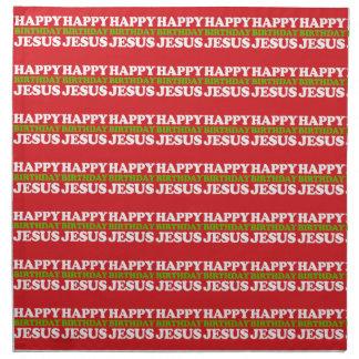 Feliz cumpleaños Jesús Servilletas De Papel