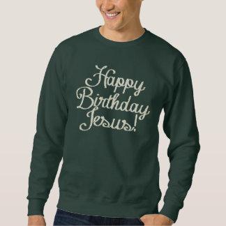 Feliz cumpleaños Jesús Sudadera Con Capucha