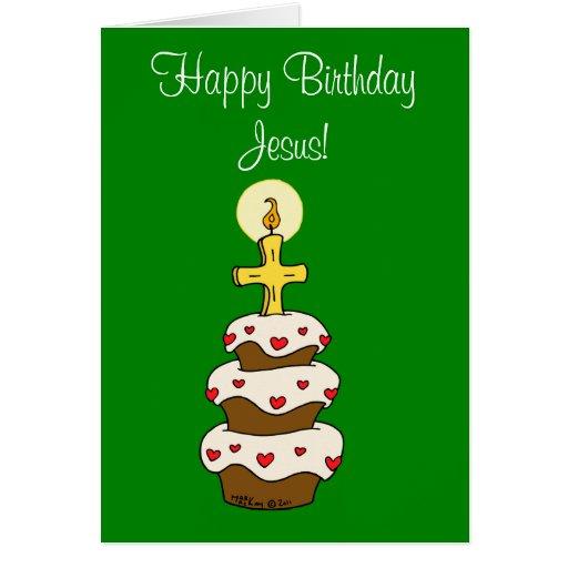 Feliz cumpleaños Jesús Tarjetón