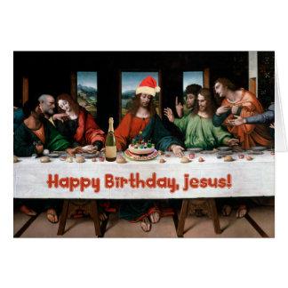 ¡Feliz cumpleaños, Jesús! Tarjeta